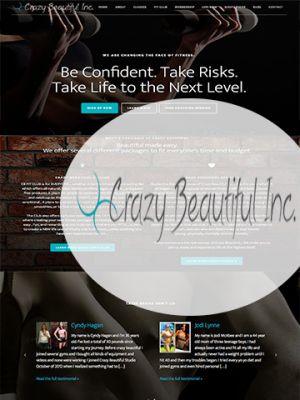 Crazy Beautiful INC website