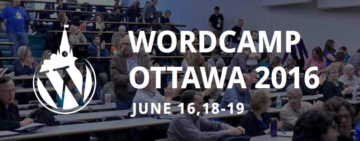 WordCamp Ottawa Header 2016