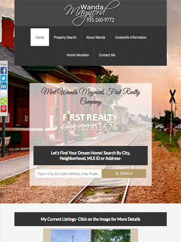Realtor website 2
