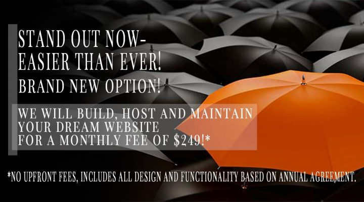 Monthly Web Design Now Available